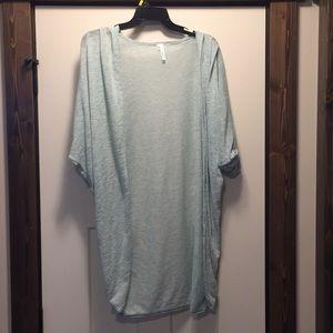 Women's Oversized Dress Length Cardigan